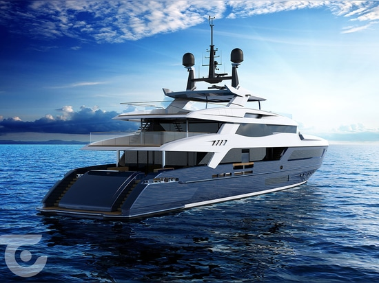 New 55m Baglietto 10225 superyacht nears completion