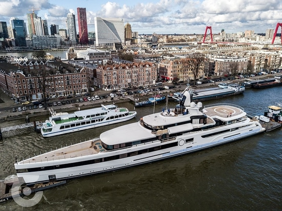 93m Feadship superyacht Lady S nearing delivery