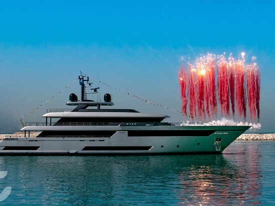 Riva launches 50m yacht Race in Ancona