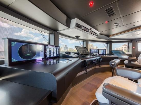 TEAM Italia reveals bridge technology on board M/Y 'Spectre'