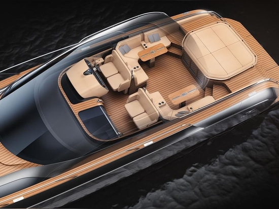 The H55 combines cutting-edge hull design with Hunton's racing DNA