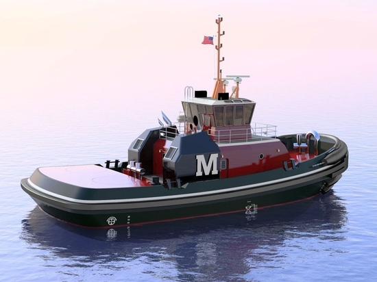 New 86 ft tugs will have bollard pull of 68 tons (Image: Jensen Maritime)