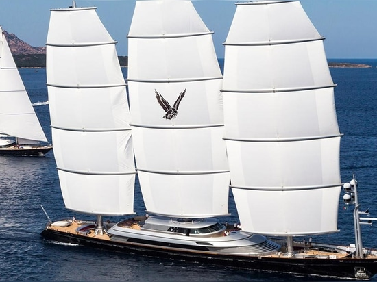 The Maltese Falcon is attending this year's Superyacht Show