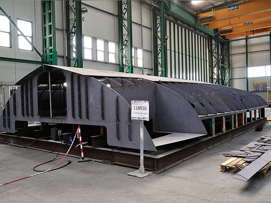 Keel laid of first Rosetti RSY 38 Explorer yacht