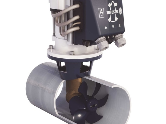 The Bow Pro Boosted thruster can be fitted to any boat
