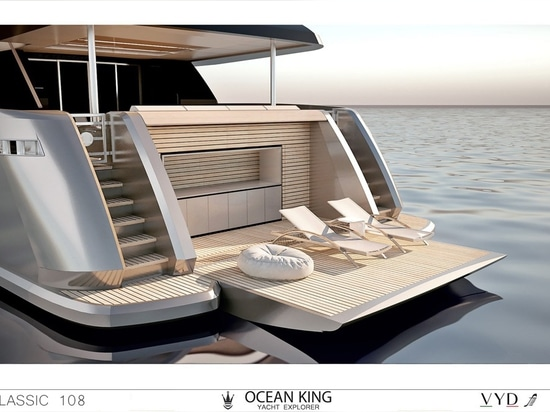 Ocean King showcases latest New Classic 108 model