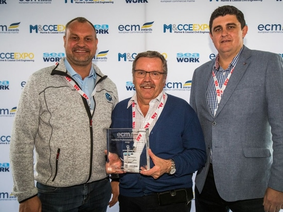 Maritime Professional of the Year Award winner Mark Ranson - National Workboat Association