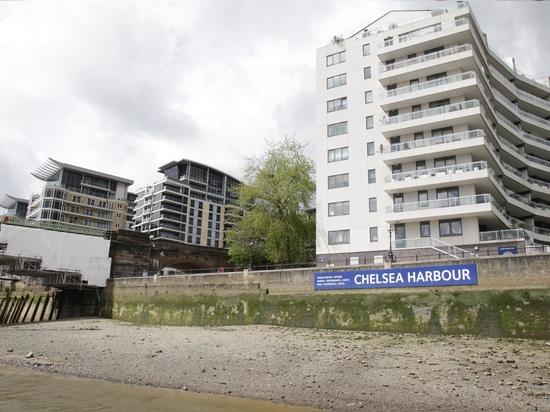 Dredging Chelsea Harbour marina is no easy matter