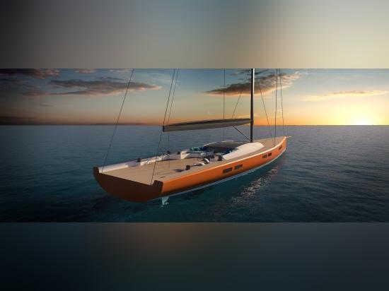 Reichel Pugh new 35m sailing superyacht design
