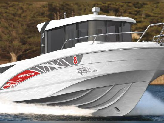 GRAND PAVOIS: THE NEW BARRACUDA 8 BY BENETEAU IS THE FISHERMAN'S FRIEND