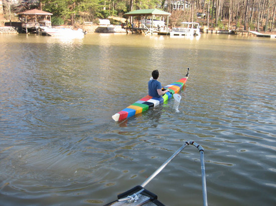 3D PRINTED KAYAK BY GRASS ROOTS ENGINEERING