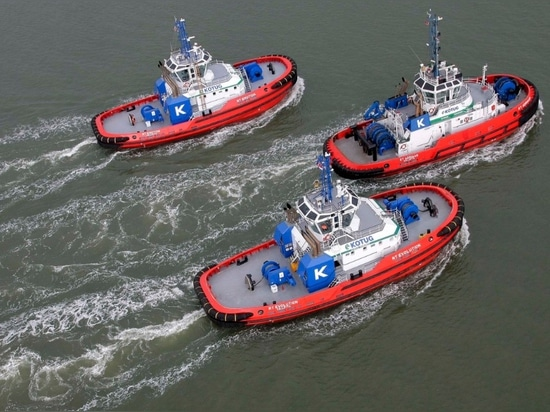 Kotug wins annual innovation award for its Rotortugs