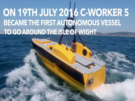 Autonomous Boat Goes Round the Island