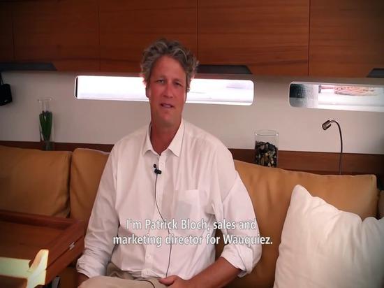 Wauquiez Centurion 57 yacht in Cannes Boat Show 2013