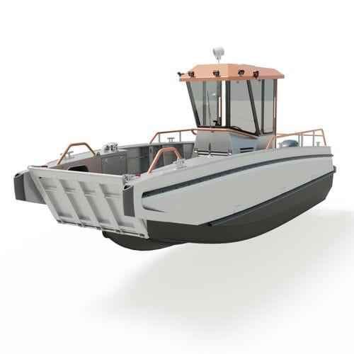 上陸用舟艇 / 船外