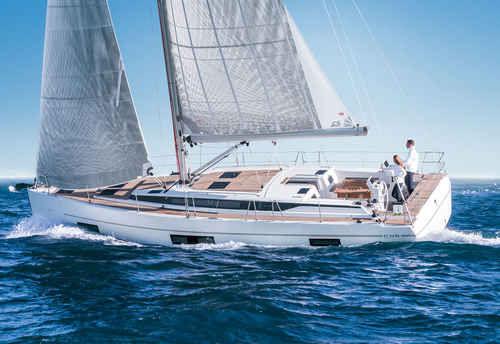 クルージング帆船 / オープントランサム / ブリッジサロン / キャビン6つ