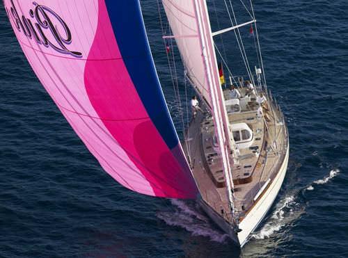 クルージング帆船 / クルージング競技 / オープントランサム / カーボン製