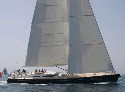 クルージング競技帆船 / ブリッジサロン / キャビン4つ / バウスプリット