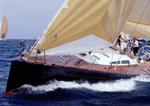 クルージング競技帆船 / オープントランサム / カーボン製 / キャビン4つ
