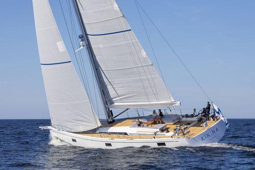 クルージング競技帆船 / オープントランサム / ダブルサフラン / ツインステアリングホイール