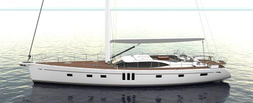 クルージング帆船 / セントラル コックピット / キャビン3つ / バウスプリット