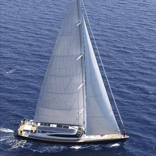 クルージング帆船 / オープントランサム / ツインステアリングホイール