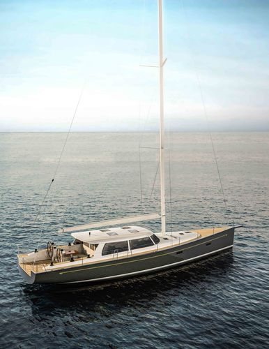 クルージング帆船 / オープントランサム / キャビン2つ / ツインステアリングホイール