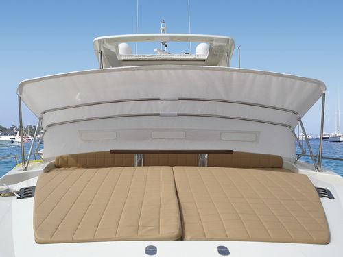 ボート用ビミニトップ / コックピット / ステンレス鋼フレーム