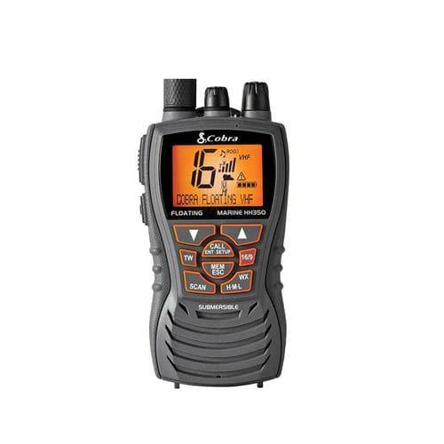 ボート用ラジオ / ポータブル / VHF / 浸水性