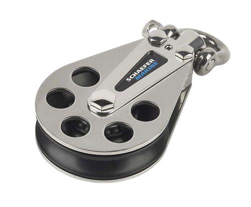 ボールベアリングブロック / 1 / 回り継手付き / 最大ロープサイズ:16 mm