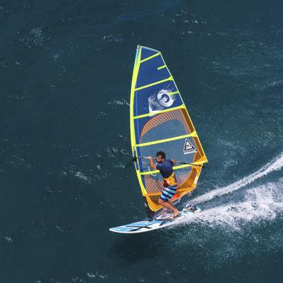 フリーライドウインドサーフィンの帆 / 速度 / 7バテン / 6バテン