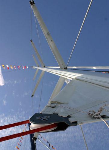 ヨット用マスト / ファーリング / アルミ製