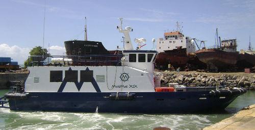 オフショアサービス船 / アルミ製