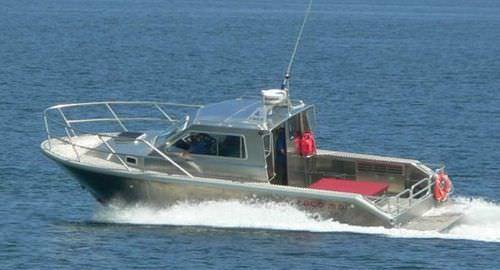 監視船 / インボードウォータージェット / アルミ製