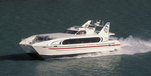 客船 / カタマラン / インボードウォータージェット / アルミ製