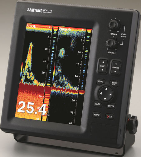ボート用釣り用水深測量器 / カラー / デジタル