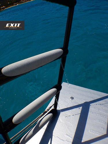 ボート用はしご / 回転 / 水泳 / 船尾