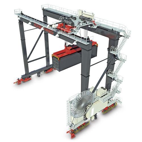 フロアトラックコンテナ ストック用装置 / 自動