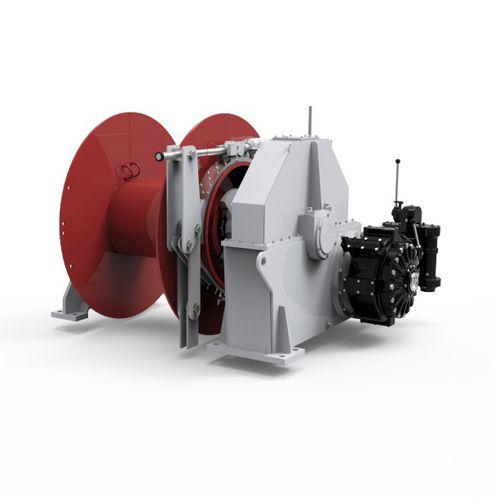 タグボートウィンチ / 牽引用 / 油圧モーター / 電気駆動