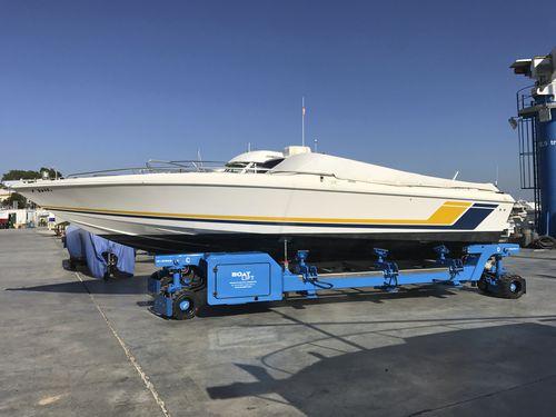 ハンドリングトレーラー / 造船所用 / 自走式 / 遠隔操作