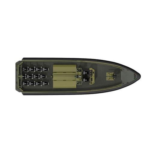 軍船 / 船内 / アルミ製 / 複合艇