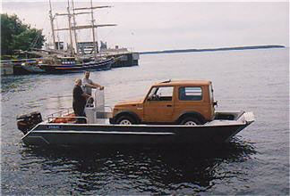 上陸用舟艇 / 船外 / アルミ製