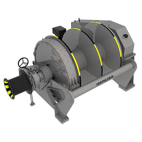 タグボートウィンチ / 牽引用 / 油圧モーター / ダブルドラム