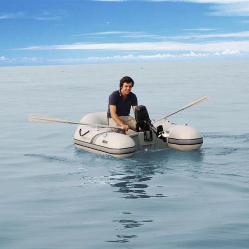 船外インフレータブルボート / 折り畳み式 / ヨット用付属品 / 2人