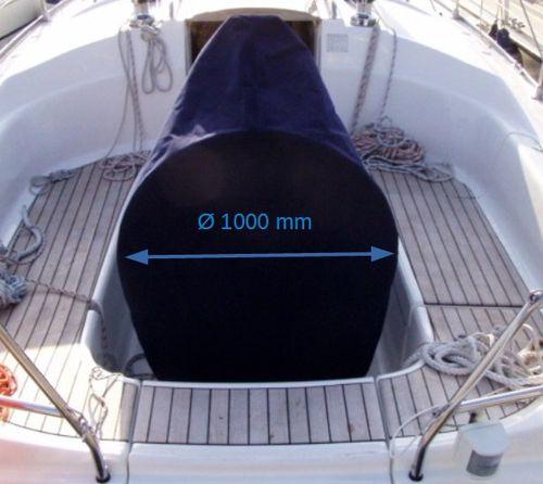 車輪付バー用安全カバー / 帆船用 / コンソール用 / コックピット テーブル