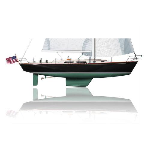 クルージング帆船 / クラシック / オープントランサム / キャビン3つ