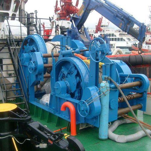 牽引用ウィンチ / 船用 / タグボート / アンカー用