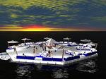 ボート用プラットフォーム / マリーナ用 / フローティング / モジュール式