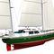 クルージング帆船 / セントラル コックピット / アルミ製 / キャビン3つ