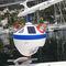 繋留ブイ / 係船索 / 自動調節アンカー ブイ / LED 光源付き
